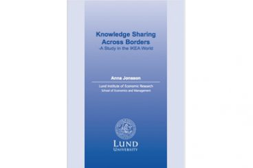 Knowledge sharing across borders - Dissertation